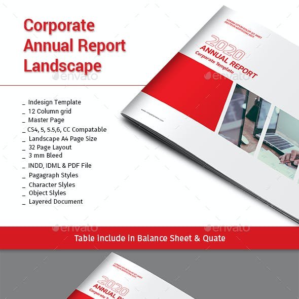 Corporate Annual Report Landscape