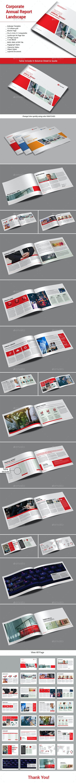 Corporate Annual Report Landscape - Informational Brochures