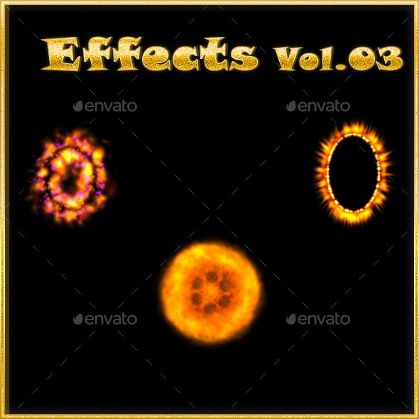 Effects Vol 03 - Sprites Game Assets