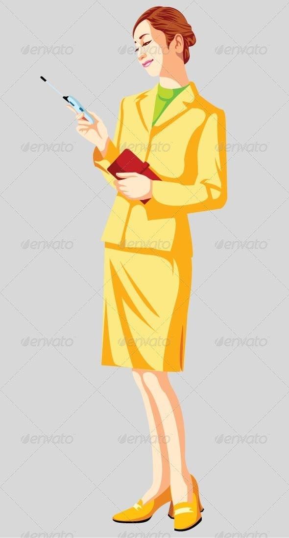 1 Stylist Women - People Characters