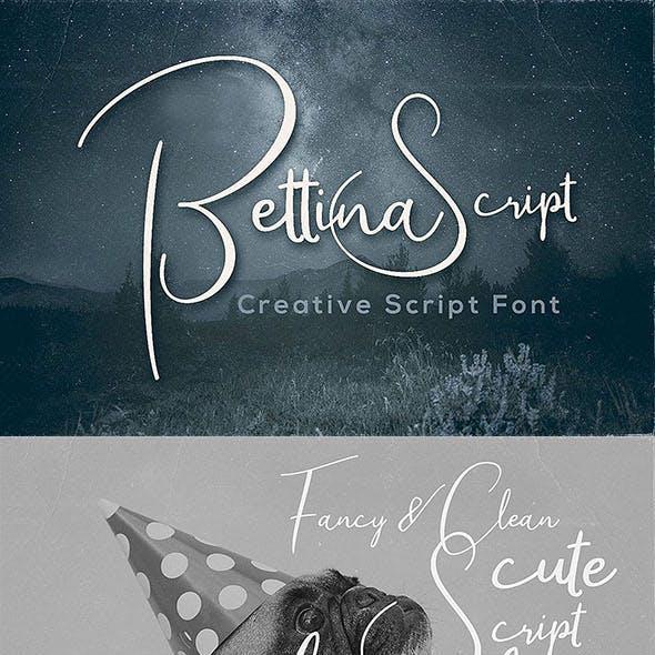 Bettina Script Font