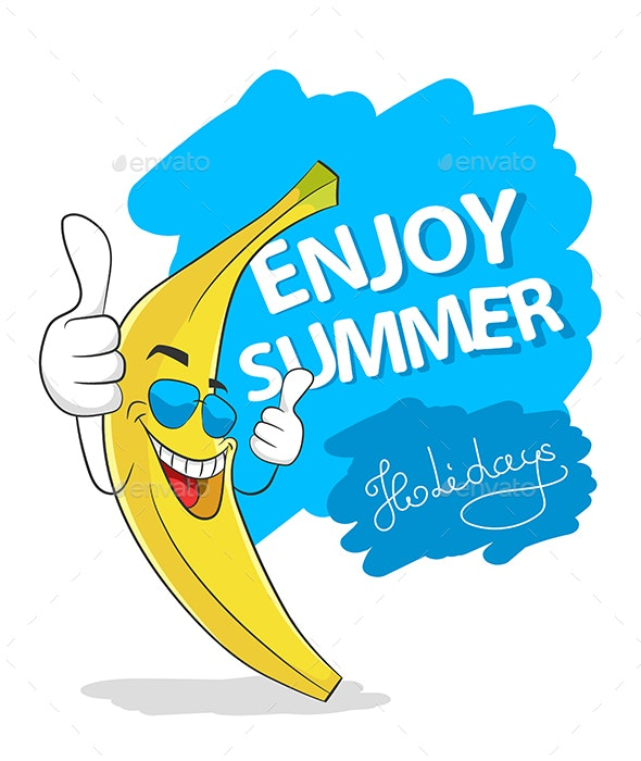 Enjoy Summer Banana - Seasons Nature