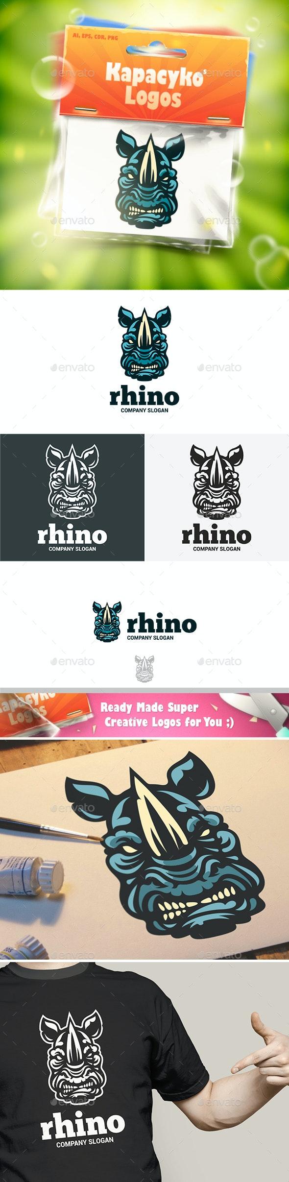 Rhino Logo - Animals Logo Templates