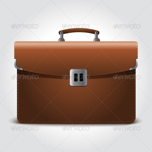 Business Brown Briefcase