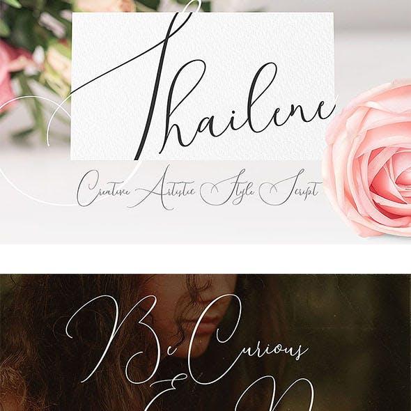 Shailene Script Font