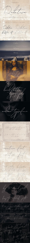 Relative Handwritten & SVG Font - Hand-writing Script