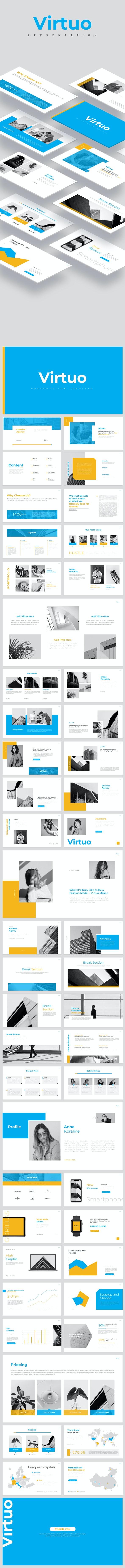 Virtuo Google Slides - Google Slides Presentation Templates