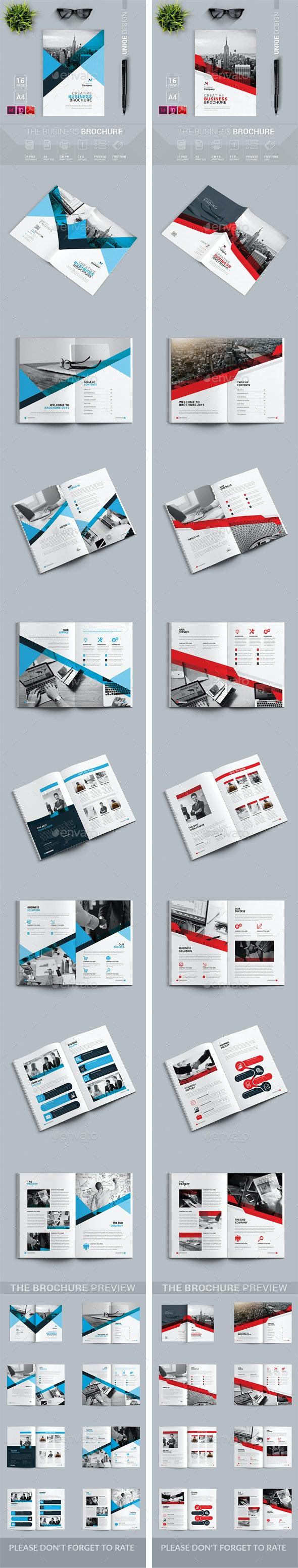 Brochure Bundle 2 in 1 - Corporate Brochures