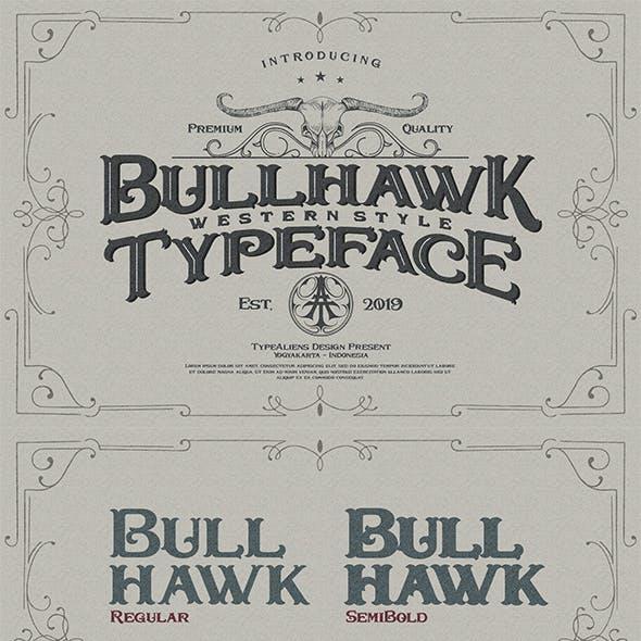 Bullhawk Layered Font