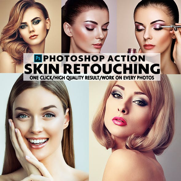 Skin Retouch Action