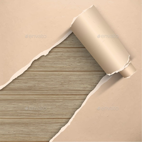 Torn Old Grunge Parchment  - Backgrounds Decorative