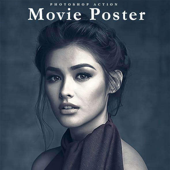 Movie Poster Photoshop Action
