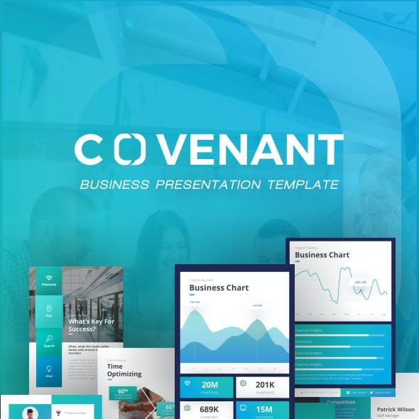 Covenant Portrait Business PowerPoint Template