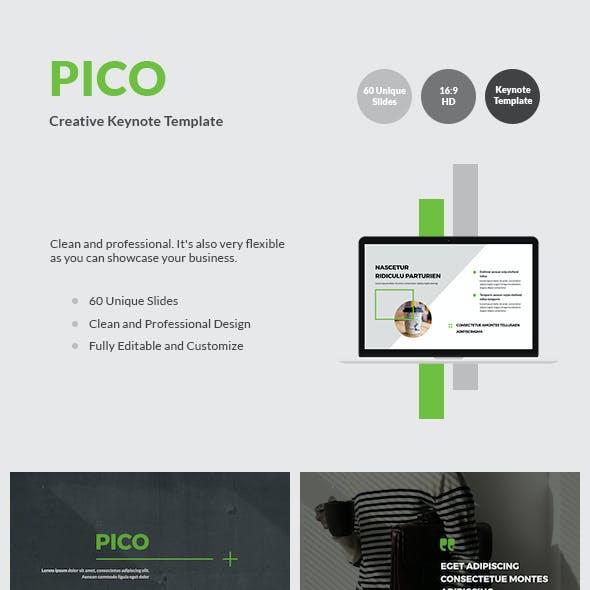 PICO - Creative Keynote Template