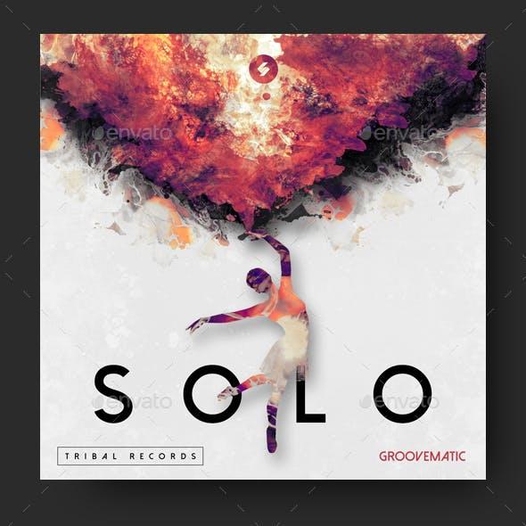 Solo - Music Album Cover Artwork Template