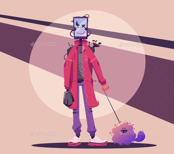 Cyborg Character Design - Miscellaneous Characters
