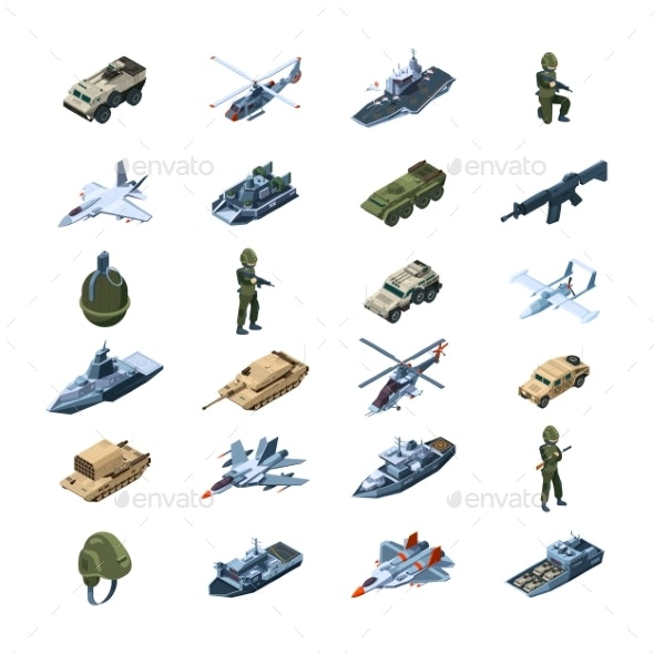 Military Transport - Man-made Objects Objects