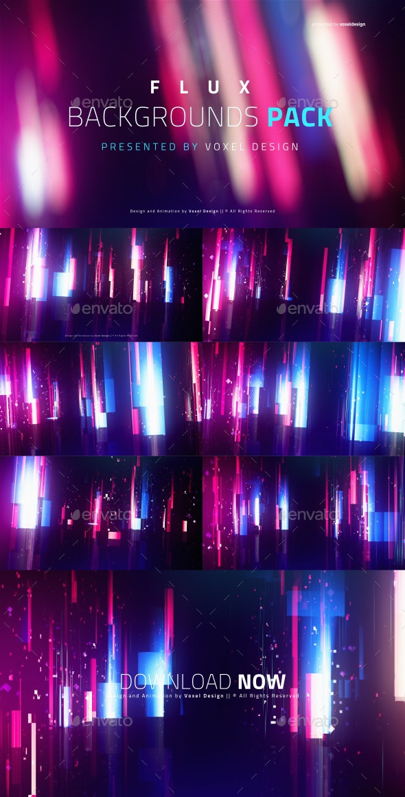 Flux Cinematic Backdrops - Backgrounds Graphics