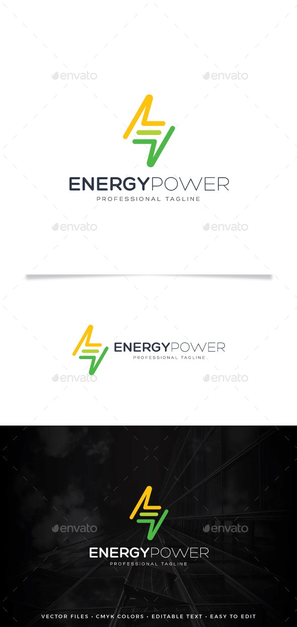 Energy Power Logo - Symbols Logo Templates