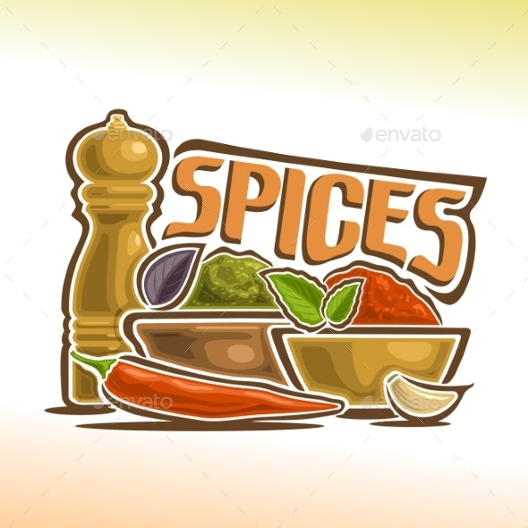 Vector Spices - Food Objects
