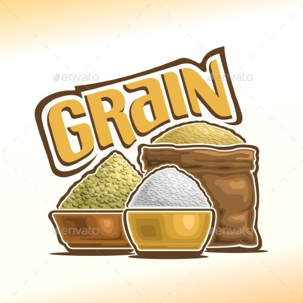 Vector Grain - Food Objects