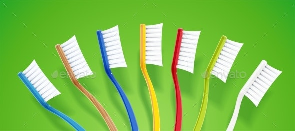 Toothbrushes - Man-made Objects Objects