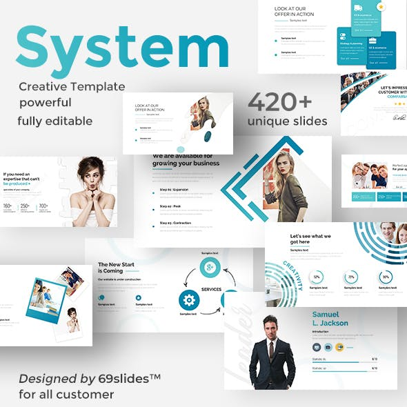 Processing System Keynote Pitch Deck Template