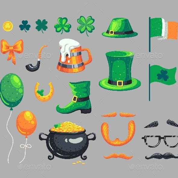 Set of St. Patrick's Day Symbols