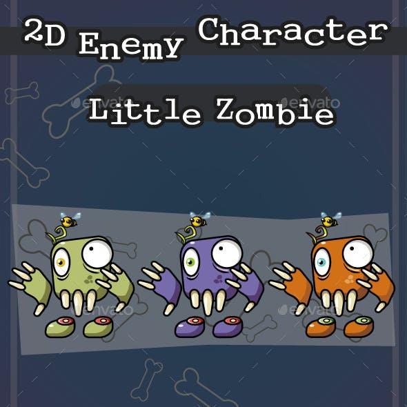 2D Enemy Character - Little Zombie