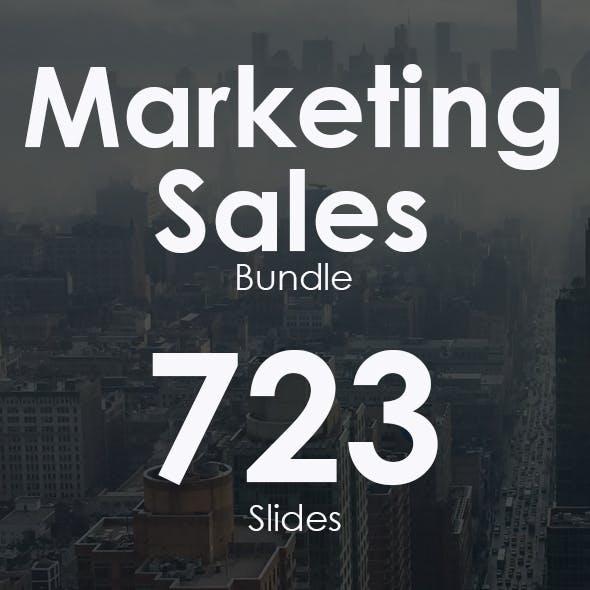 Marketing Sales Powerpoint Bundle