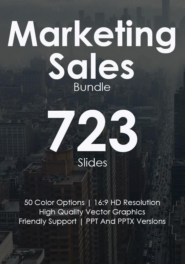 Marketing Sales Powerpoint Bundle - Business PowerPoint Templates