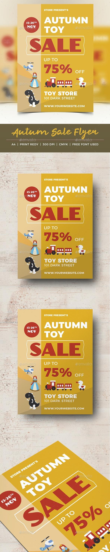 Autumn Sale Flyer - Events Flyers