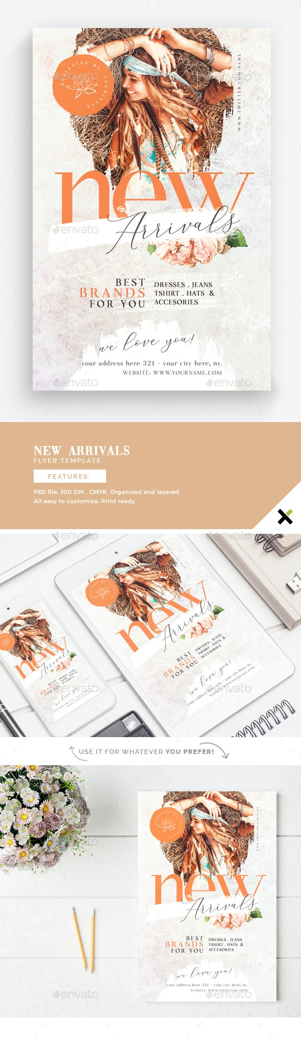 New Arrivals Flyer Template - Events Flyers