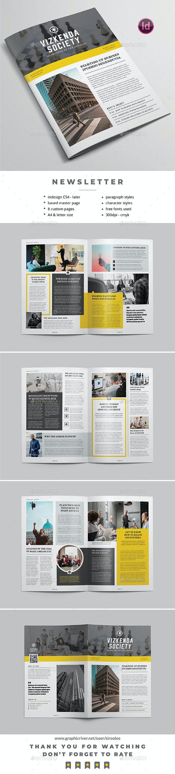 Multipurpose Newsletter v.11 - Newsletters Print Templates
