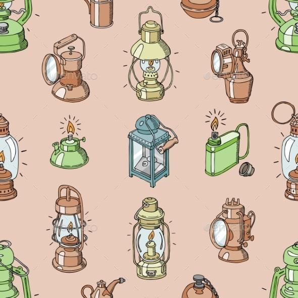 Lantern Vector - Patterns Decorative