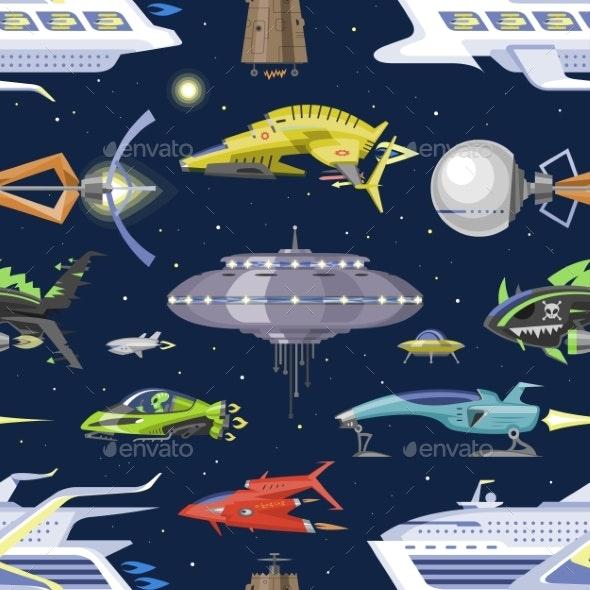 Spaceship Vector - Miscellaneous Vectors