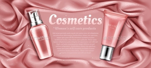 Cosmetics Tubes Mockup Natural Spa Beauty Product - Health/Medicine Conceptual