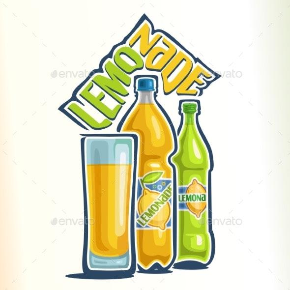 Vector Logo for Lemonade - Food Objects