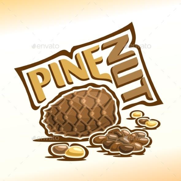 Vector Logo for Pine Nut
