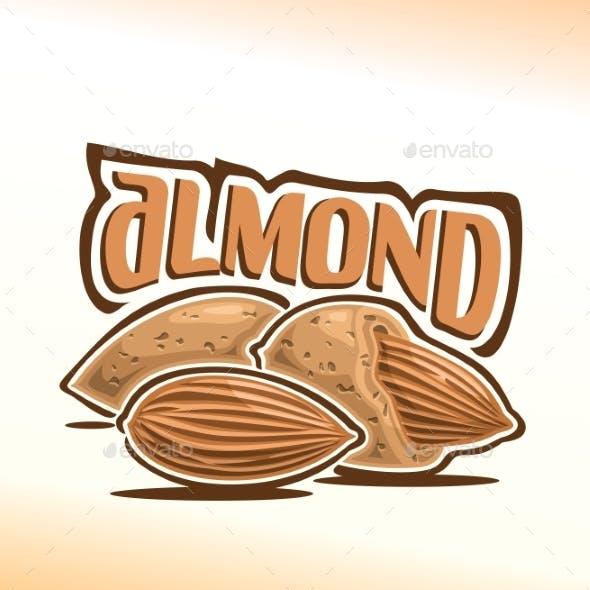 Vector Logo for Almond