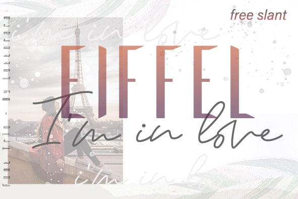 Eiffel In Love - Script Fonts