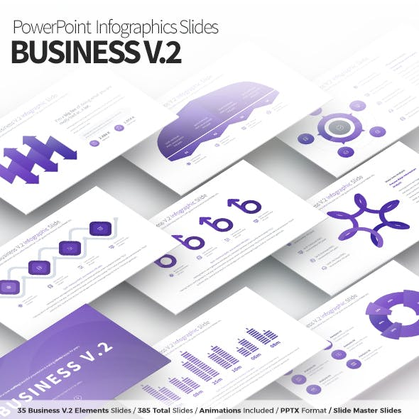 Business V.2 - PowerPoint Infographics Slides