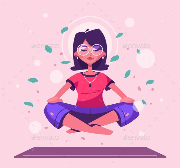 Meditation Health Benefits for Body and Mind - People Characters