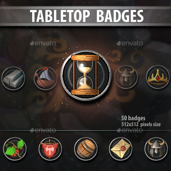 Tabletop Badges