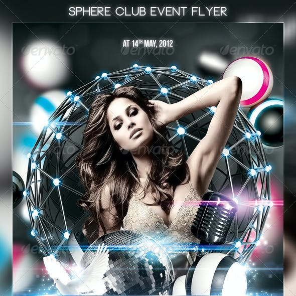 Sphere Club Event Flyer