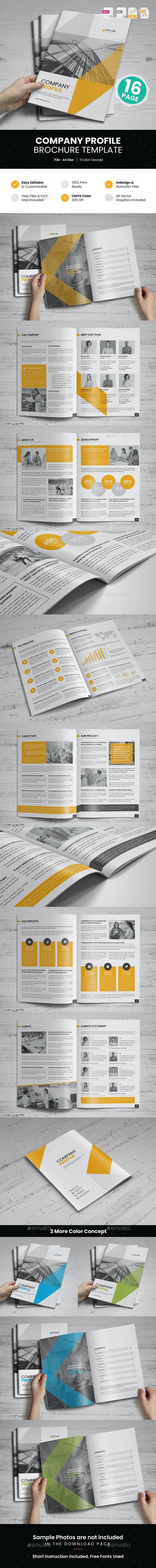 Company Profile Brochure Design v7 - Corporate Brochures