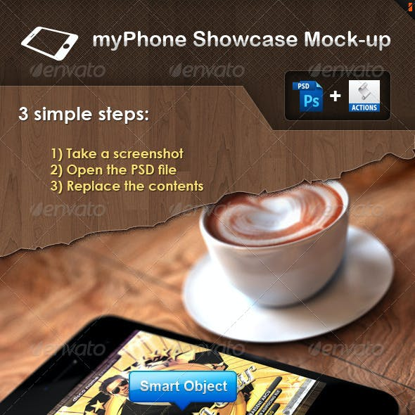 myPhone Showcase Mock-up