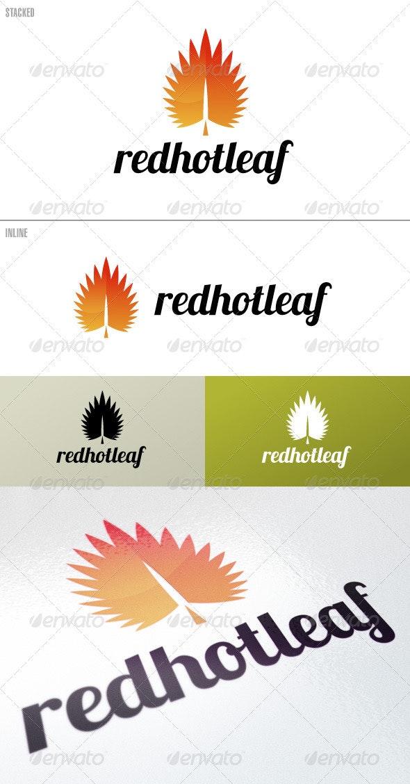 RedHotLeaf – Logo Template