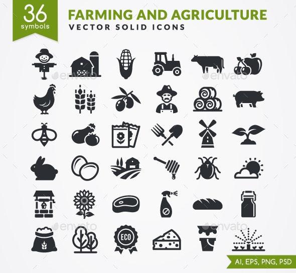 Farm Icons - Miscellaneous Icons