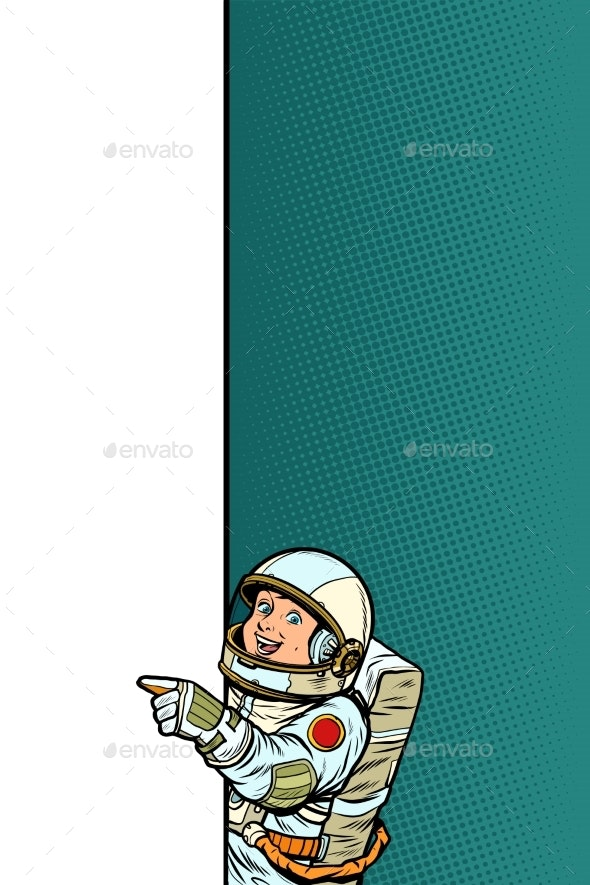Boy Astronaut - People Characters